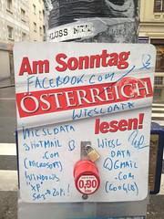 photoset: Öffentlicher Raum Wien: Plakate, Schilder, Strasse (2012/13)