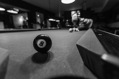 16 / 365 (MRG Photo) Tags: bw white black pool canon project angle wide billiards 365 day16 8ball t3i 1116mm day16365 3652013 365the2013edition 16jan13