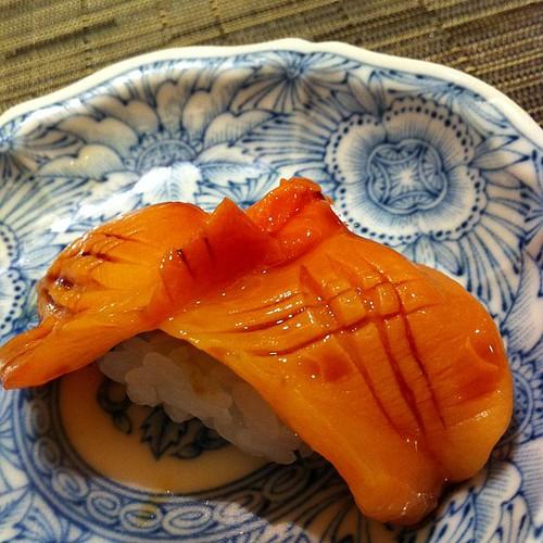 赤貝 #sushi やべえ