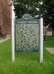 Calumet Theater, Calumet, Michigan (bobindrums) Tags: usa mi america us unitedstates michigan landmark na greatlakes northamerica upperpeninsula lakesuperior nationalregisterofhistoricplaces nationalhistoriclandmarks