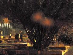 Bisbee Cemetery Orbs (galiuros) Tags: longexposure arizona cemetery nightime ghosts bisbee