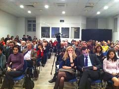 Veranstaltung zum Thema Atomkraft im Goethe-Institut Sofia (Rebecca Harms) Tags: referendum grne atom borisov bulgarien atomkraft boyko rebeccaharms zelenite grneefa