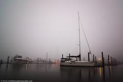 Bandon, Oregon (Wind Home) Tags: travel light sea west art water fog oregon marina docks canon dark boats coast long exposure northwest getty bandon gettyimages wwwwindhomephotogrpahycom gettyimages2013 morrining