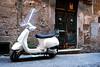 DSC_2190 (Simona Ray) Tags: street door light white roma vespa