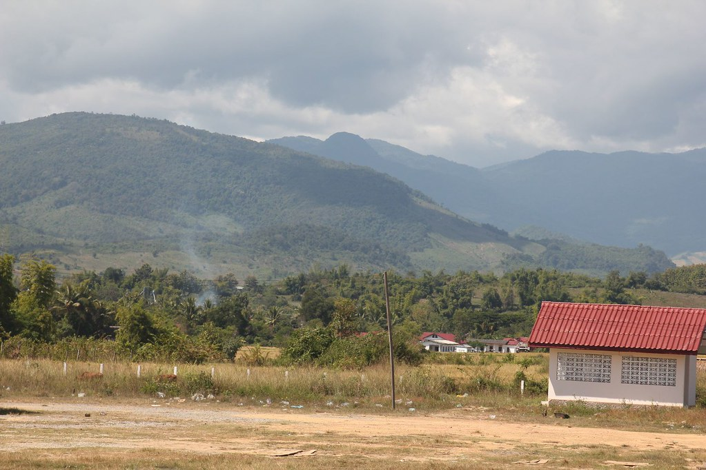 Surrounding scenes, Muang Kham, Northern Laos