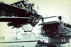 Image titled Kingston Bridge Under Construction 1969