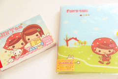 q-lia milk tea fairy tale (fondoftea) Tags: fairytale qlia memopad letterset kawaiistationery