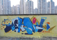 Dezio - the shattered E (Dezio one) Tags: china graffiti shanghai mct xit dezio ajt kcw clw