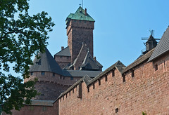 2012.09.04.002 HAUT-KOENIGSBOURG - le donjon (alainmichot93 (Soon, on vacation in Venice)) Tags: france architecture tour alsace 67 2012 remparts murailles basrhin donjon moulinvent chteauduhautkoenigsbourg chtea architecturemilitaire orschwiller xixmesicle xiiimesicle mygearandme mygearandmepremium mygearandmebronze