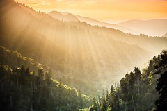 #greatsmokymountains #nationalpark #cumberlandgap #sun #rays #mountains (Laura Travels) Tags: instagramapp square squareformat iphoneography uploaded:by=instagram