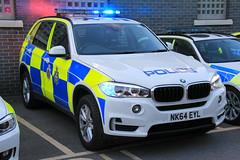 Durham Constabulary BMW X5 Armed Response Vehicle (PFB-999) Tags: durham constabulary police bmw x5 4x4 armed response vehicle car unit arv firearms guns lightbar clusters leds nk64eyl