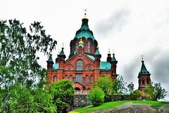 Uspenski (Elena Delahaye) Tags: finland nature helsinki island sea north scandinavia suomi