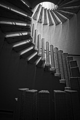 'You got me in a spin'..... (Taken By Me Photography) Tags: varietytour takenbyme tower steps stairs spiral black blackandwhite white monochrome abandoned adventure building closed creepy centre chateau maison derelict decay dark d610 explore exploring empty eerie forgotten house home left nikon neglect ruin shut urbex urban ue vacant wwwtakenbymephotographycouk takenbymephotography