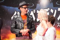 Independence Day: Resurgence Japan Premiere: Jeff Goldblum & Maika Monroe (Dick Thomas Johnson) Tags: japan tokyo minato roppongi      roppongihills  roppongihillsarena  movie film premiere moviepremiere event   japanpremiere independencedayresurgence  jeffgoldblum  maikamonroe