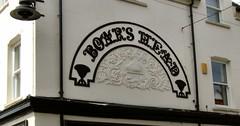 Sign of a former pub (Mrs Fogey) Tags: sign pub boar boarshead 19thcentury newark nottinghamshire