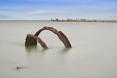 Aqueous Framework (Steve Gumina Photography) Tags: dle daytimelongexposure longexposures industrial decay rusty hercules seascape
