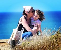 Je t'aime mon coeur Maman (K@w!) Tags: bretagne maman plage pointe de la torche instagram