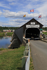 Longest Covered Bridge (Note-ables by Lynn) Tags: longest newbrunswick hartland coveredbridges bridges