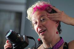 Georgette (giltay) Tags: topw topwppl torontophotowalks torontophotowalksportraitsandpotluck georgette tamron135mmf28 camera portrait pentaxk10d