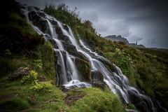 Chasing Waterfalls ... again (Turnpops) Tags: waterfall bridesveilwaterfall isleofskye skye clouds longexposure canon6d leebigstopper canon1635mm