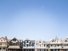 (gwoolston) Tags: architecture victorian seaside elaborate homes balconies sky colors oceangrove jerseyshore shore sunny