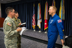 NASA Astronaut Tim Kopra Speaks at Defense Information School (NHQ201609130013) (NASA HQ PHOTO) Tags: md usa defenseinformationschool timkopra ftmeade aubreygemignani nasa