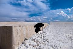 Yolanda's Path (Pensiero) Tags: woman umbrella ombrello donna gibellina gibellinavecchia cretto crettodiburri sky cielo concrete cemento sicila sicily