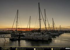 Boats at Sundown (andrewtijou) Tags: andrewtijou nikond7200 europe spain puntadelmoral costadelaluz port sunset harbour water boats es