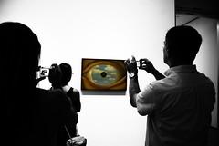 Magritte Eye (LilacPOP) Tags: nyc newyork timesquare moma museumofmodernart guggenheim subway magritte fineart gallery lights city urban bigapple etsy jannacoumoundouros lilacpopstudio lilacpop
