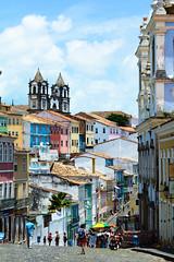 Salvador de Baha (Gustavo Mrquez Photography) Tags: brazil brasil baha salvadordebaha colorful houses pelourinho