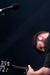 Instrumental (peterkelly) Tags: digital montreal quebec canada northamerica osheagamusicartsfestival osheaga 2016 festival concert music musician passenger guitar guitarist player playing microphone mike lookingdown