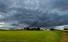 Threatening Sky. (Tony Brierton) Tags: 30716 cowexford curracloe pond