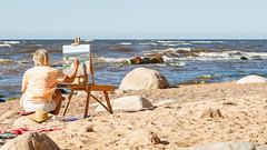 seaside (Andrey) Tags: baltic gulf seaside summer lettonie accura diamatic 85mm waves splash