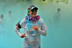 Liverpool Claire House Sefton Park Splash Dash 2016 (sab89) Tags: liverpool claire house sefton park splash dash run running 5 k charity events event blue messiest 2016 wirral hospice