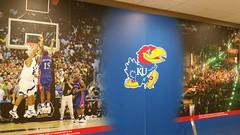 KU Themed McDonald's (Adventurer Dustin Holmes) Tags: 2016 kansas ku kansasuniversity mcdonalds i70turnpike lawrencekansas lawrenceks kujayhawk basketball sports collegesports collegebasketball mural murals