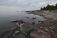 storsand, heaven meets sea (Mika Lehtinen) Tags: storsand sea shore beach water nikon d600 longexposure softsea night light grey color