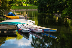 Reflection (Maria Eklind) Tags: canal malm himmel reflection water arkitektur sweden outdoor kanotcanoe europe spegling architecture skneln sverige se