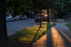 Glover Park - Benton Avenue (Adrian Vaagenes) Tags: gloaming city streets sunset