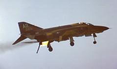 Playing Hookey (crusader752) Tags: rafalconbury usairforce 10thtrw tacticalreconnaissancewing mcdonnelldouglas rf4c phantomii 650908ar jet fighter jetfighter usafe bassingbourn airshow 1978 downanddirty