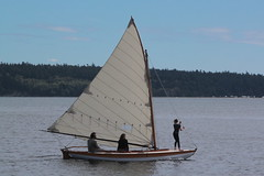 IMG_2011 - Port Townsend WA - Port Hudson - 0n the point - 40th Annual Wooden Boat Festival - unknown sloop - (BlackShoe1) Tags: washington wa washingtonstate olympicpeninsula porttownsendwa boat boatfestival woodenboat classicwoodenboat woodboat northwest maritime center wooden foundation wbf nwmc port hudson wash pacificnorthwest pugetsound jeffersoncounty eastjeffersoncounty quimperpeninsula porttownsend victorianseaport