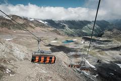 Stuba glacier (alxandru555) Tags: stubai gletscher glacier austria alps mountain mountains lake sky clouds fuji fujifilm xe2 1855mm cablecar