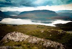 Loch Torridon (broadswordcallingdannyboy) Tags: scotland northwesthighlands holiday eos7d highlands torridon lightroom4 canonlens water mood atmosphere wilderness nature loch landscape wideangle scottishlandscape leonreilly inveralligin