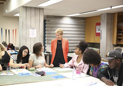 IMG_1807  Premier Kathleen Wynne met with students of the Art Centre at Central Technical School to discuss their access to post-secondary education. (Ontario Liberal Caucus) Tags: tuition education dong matthews toronto postsecondary school students classroom art