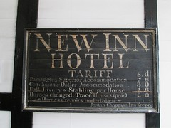 Gloucester New Inn Tarriff (Bridgemarker Tim) Tags: tolls charges fees pubs inns gloucester