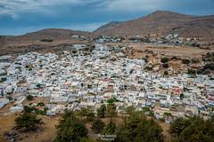 Lindos (Moshe Ashkenazi Photography) Tags: nikon d750 dslr tamron 2470 mm f 28 di vc usd sp lindos greece rhodes sky sun landscape