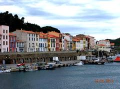 ** Port-Vendres...la portuaire...** - 3 (Impatience_1) Tags: portvendres languedocroussillonmidipyrnes pyrnesorientales ceret ctevermeille france impatience port harbour harbor maison house mditerrane mediterranean eu