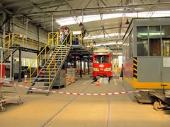 SGP E1, #940, Tramwaje lskie (transport131) Tags: tram tramwaj bdzin t kzk gop sgp e1 zajezdnia depot