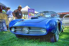1955 Lancia Aurelia Nardi Blue Ray (dmentd) Tags: 1955 lancia aurelia nardi blueray