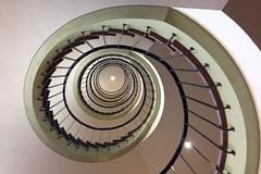 Ooo)) (Elbmaedchen) Tags: staircase spirals treppenauge stairs roundandround wendeltreppe treppenhaus architektur berlin berlinmitte explore45