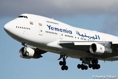 Orly B747SP 7O-YMN Yemenia (Maxime Thibert) Tags: paris official landing boeing orly b747 ory yemenia b747sp lfpo
